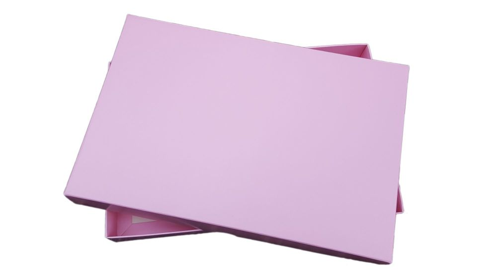 Plain Pink Wedding Consultation Box - Pack of 25