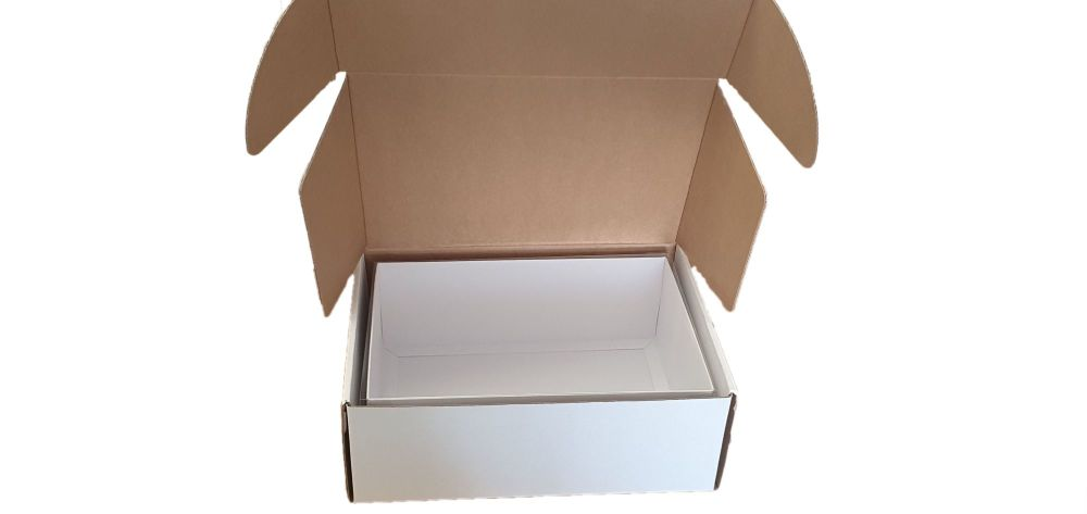 Deep White Postal Packaging  - 265 x 190 x 95mm PK of 10