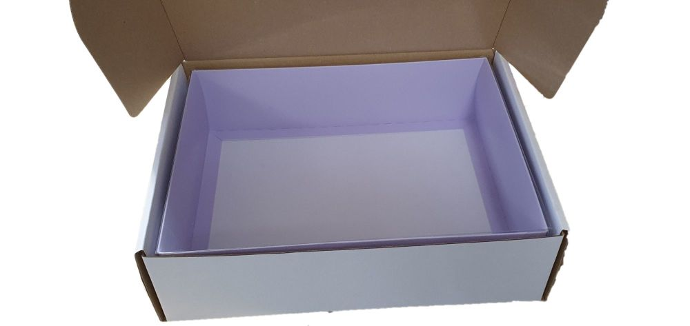 White Hamper Postal Packaging  - Outer Box Only - 260 x 205 x 75mm PK of 10
