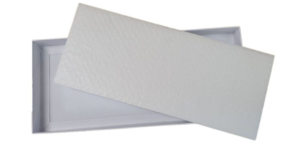White Large Rectangle Cushion Padding - See Description For Suitable Boxes