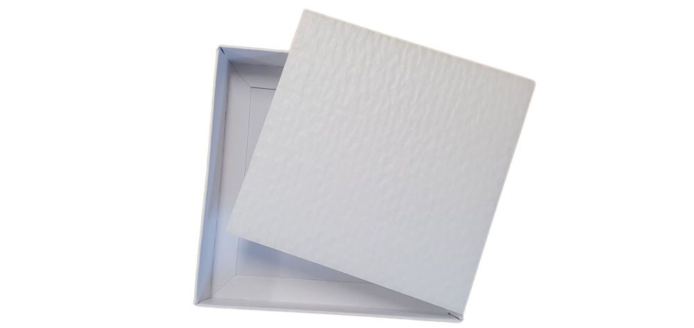 White Large Square Cushion Padding - See Description For Suitable Boxes -150mm x 150mm - Pack of 10