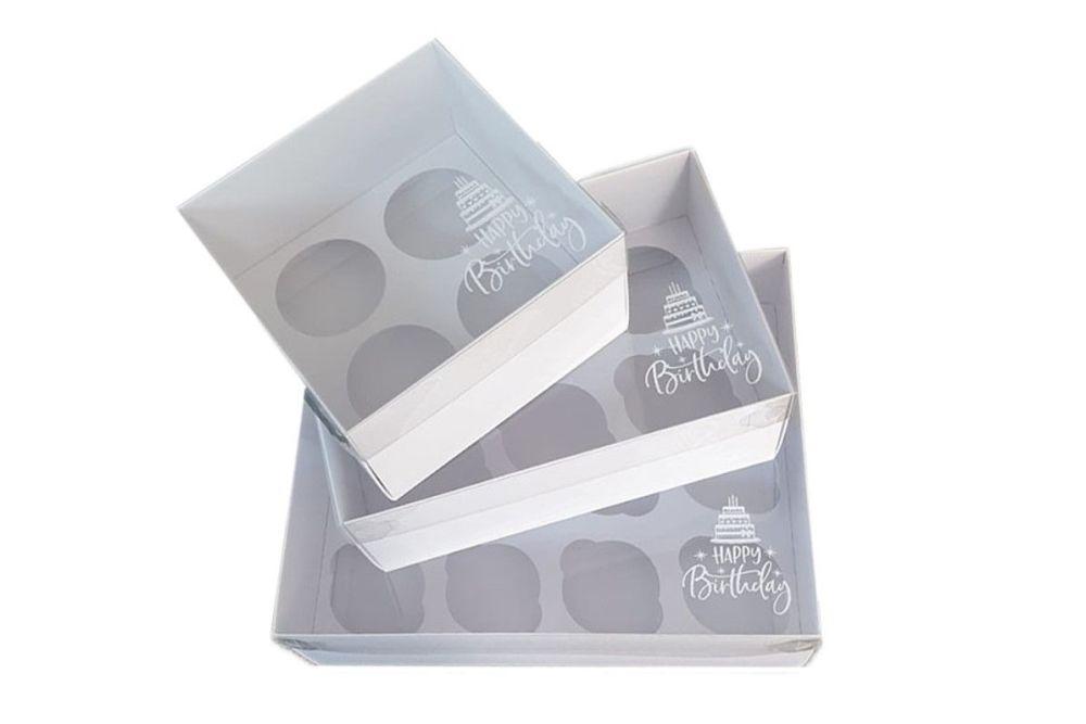 4 6 12pk cupcake box