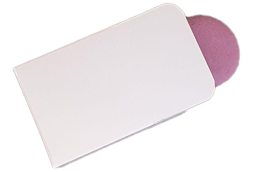 White Small Single Macaron Box - 56mm x 56mm x 25mm - Pack of 25