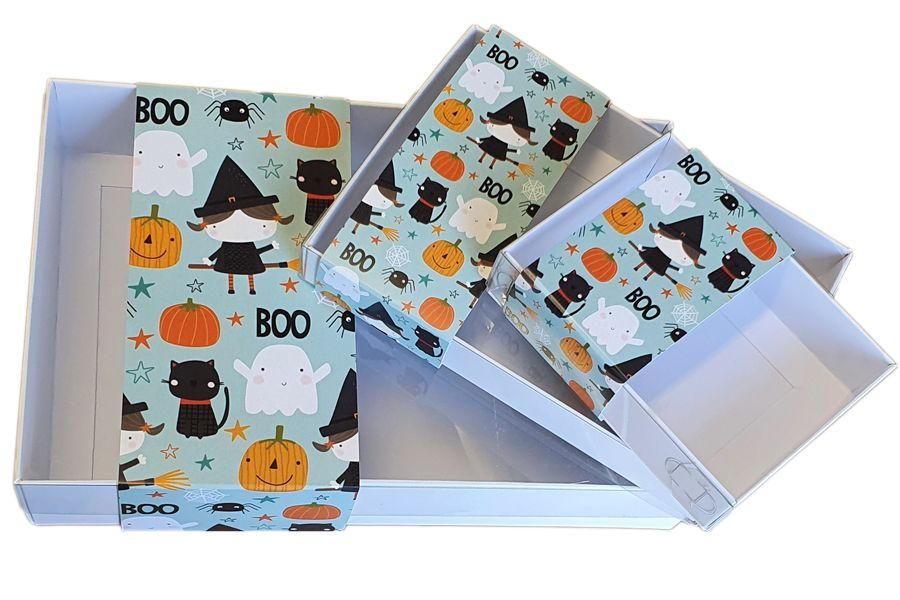 trio printed belly bands