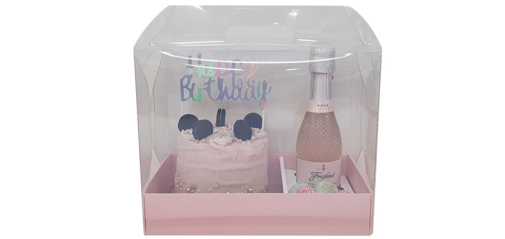 Luxury Handle Gift Box With  Insert to present a 6