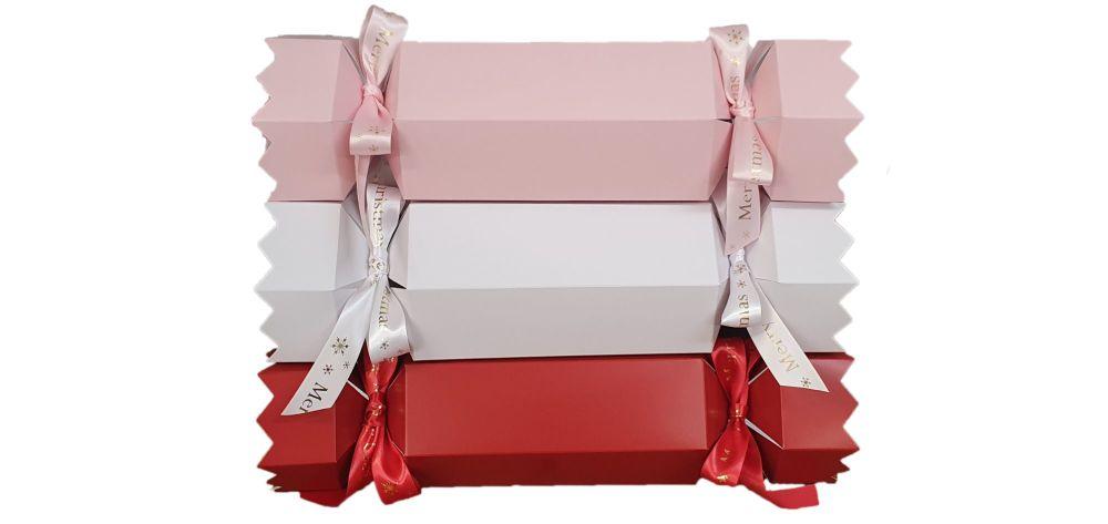 Luxury XL Hexagonal Christmas Cracker  (ribbon sold separately) Cavity Dims