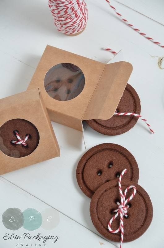Chocolate cookie buttons