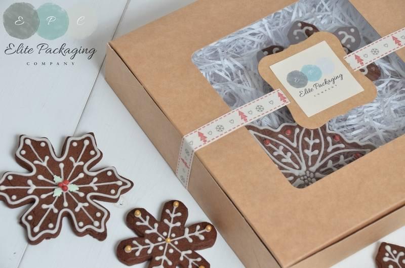 Square Cookie Box