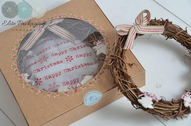 wreath box