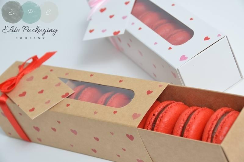 Heart Macaron box