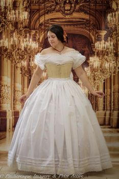 Mid-Victorian petticoat