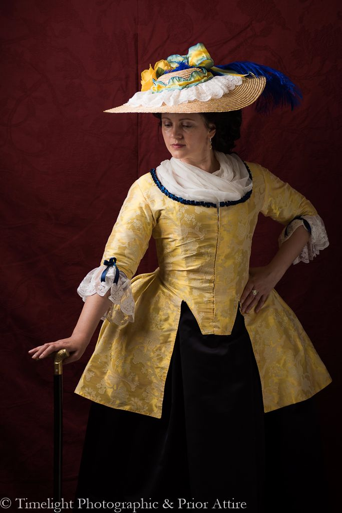 Georgian bergere hat