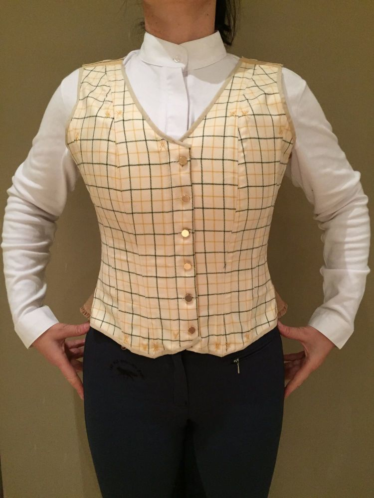 corseted waistcoat size 14 - 16