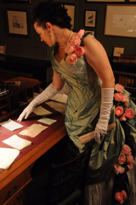 Making a Victorian Ball Bodice