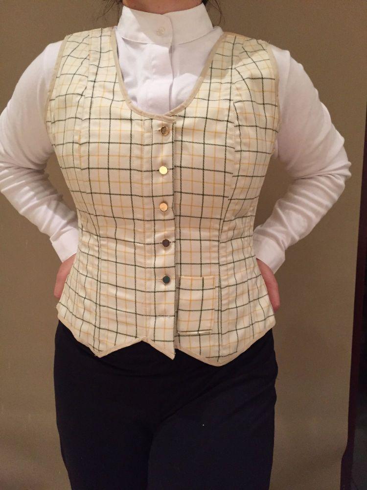 corseted waistcoat order for Carolyn