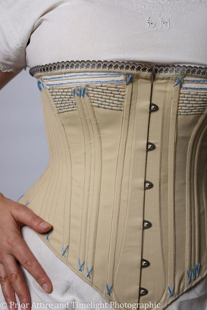 Victorian corset reproduction 1880s