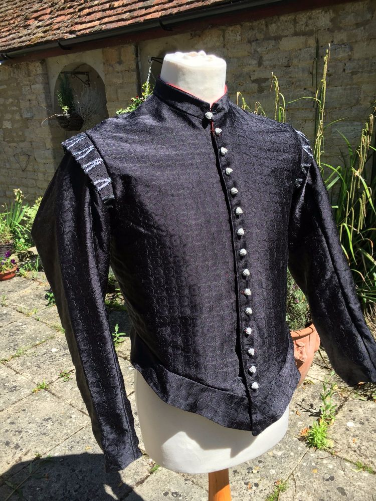 Elizabethan doublet silk