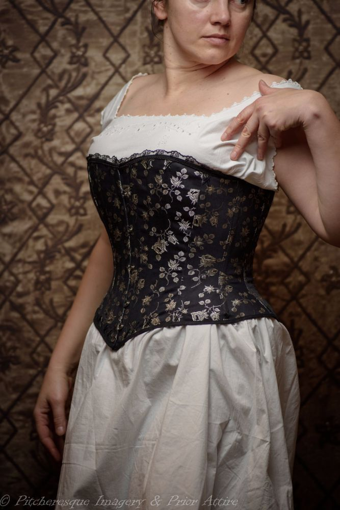 Victorian riding corset  made to measure