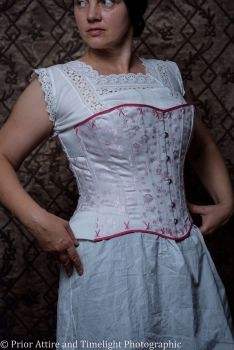 Modern riding corset  made to measure