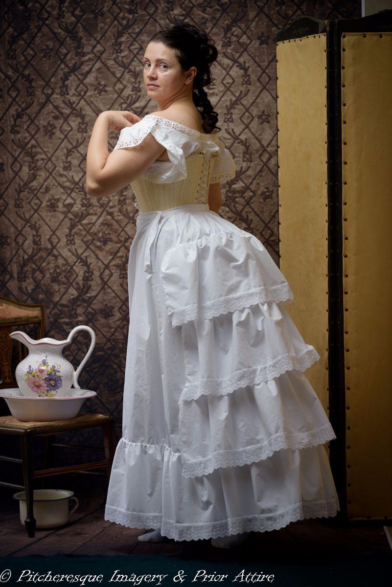 Victorian petticoat made to measure