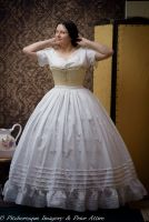 Mid-Victorian petticoat  made to measure