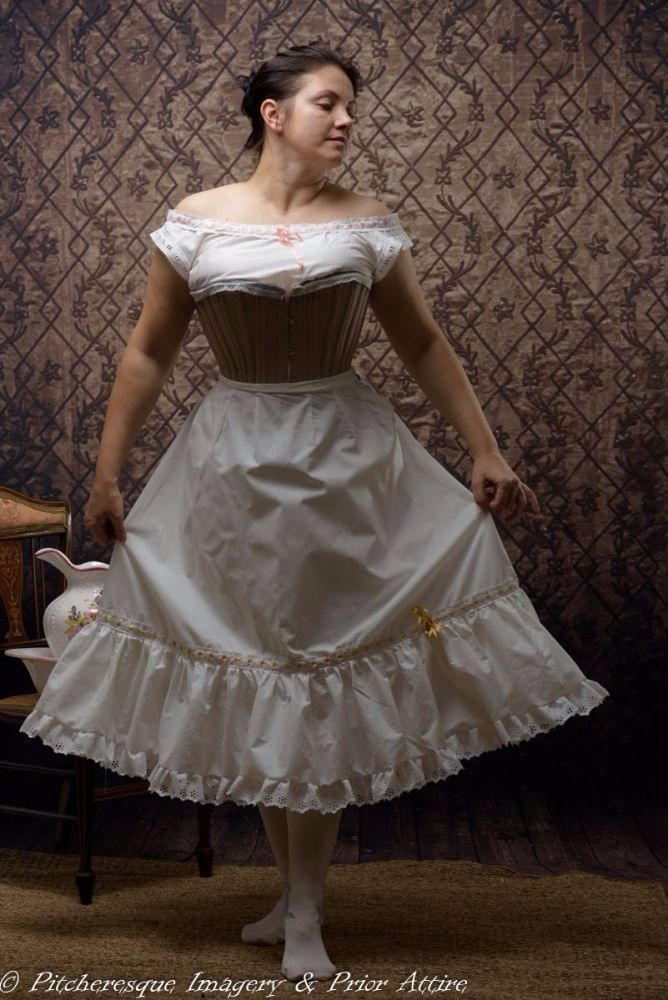 Late Victorian petticoat made to measure