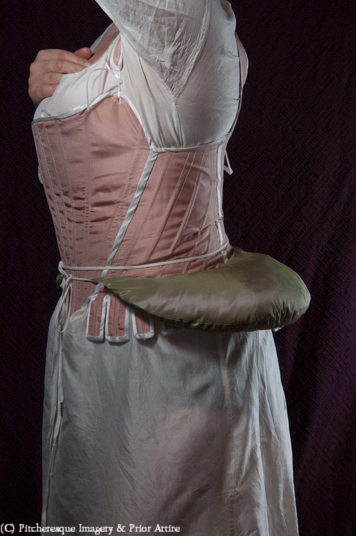 Skirt supports - georgian bum roll