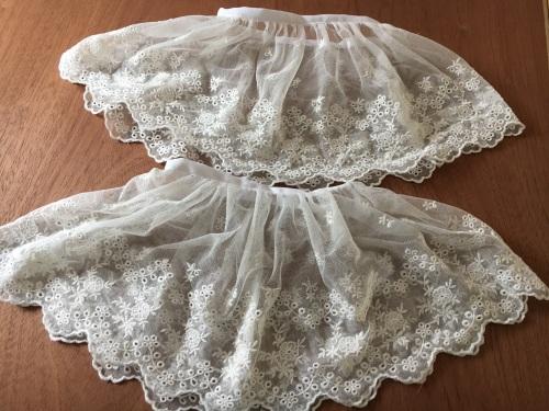 Georgian lace engagantes