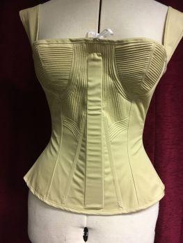 Romantic era corded corset