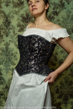 Victorian riding/sport corset  size 16-18