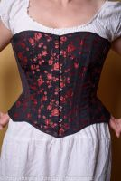 Victorian/modern riding corset  size 14-16