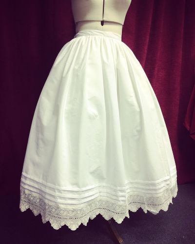 1830-40 petticoat  made to measure