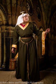 Medieval dress Bliaut 12-13th century, size L-XL