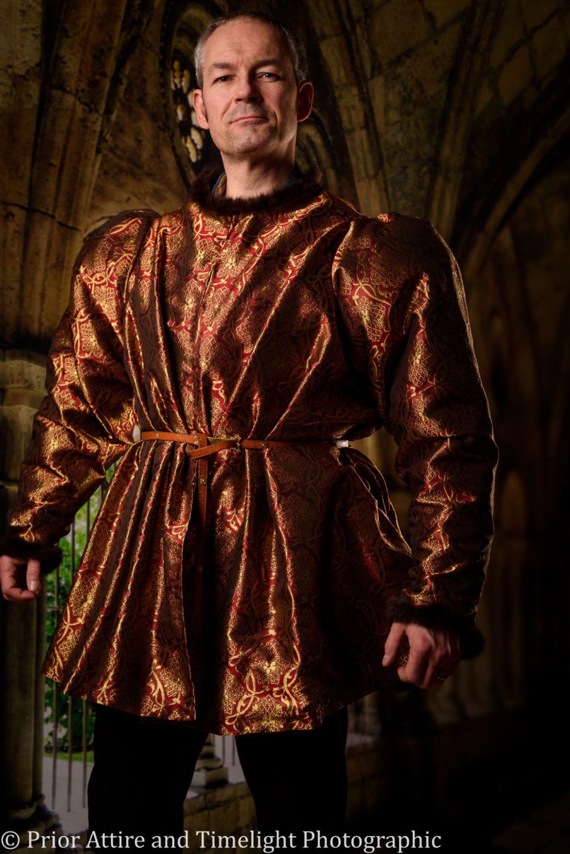 Medieval short jacket, burgundian, 15th Century