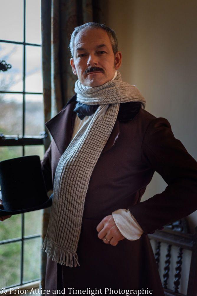 Victorian  handknitted scarf