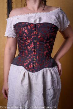 modern riding corset  size 10
