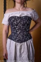 modern riding corset  size 12