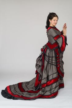 Victorian Natural Form day dress size 12