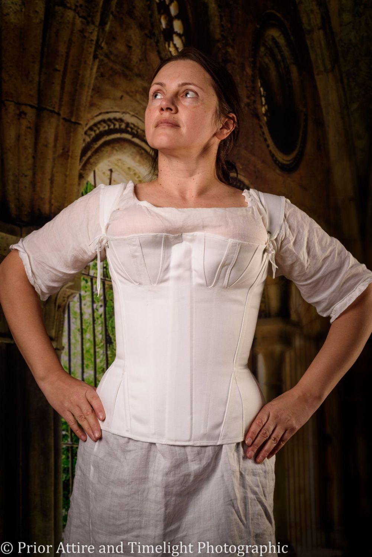 Regency stays corset size 10-12