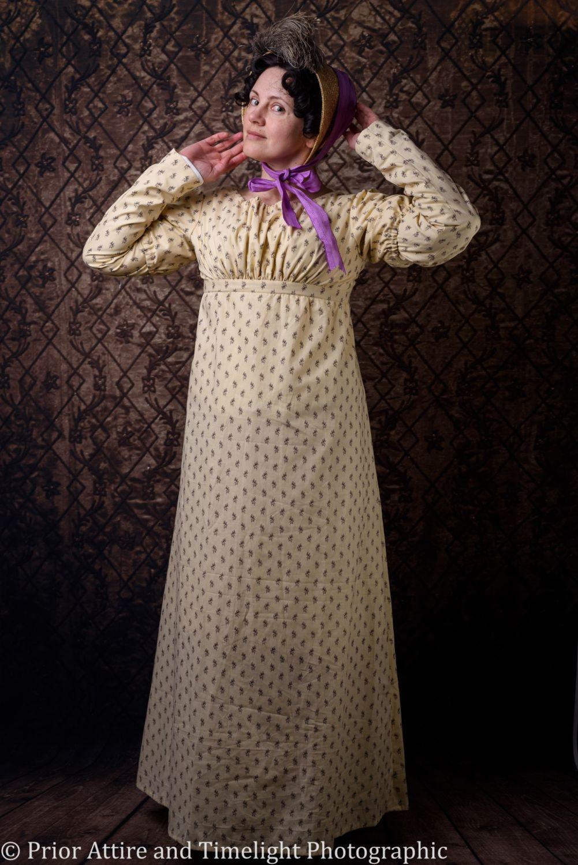 Regency day dress size 10-12