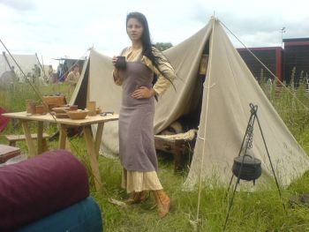 Viking dress, used