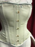 Victorian riding/sport corset 1880-90  size 12-14
