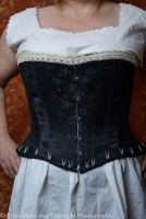 victorian/modern riding corset  size 16-18
