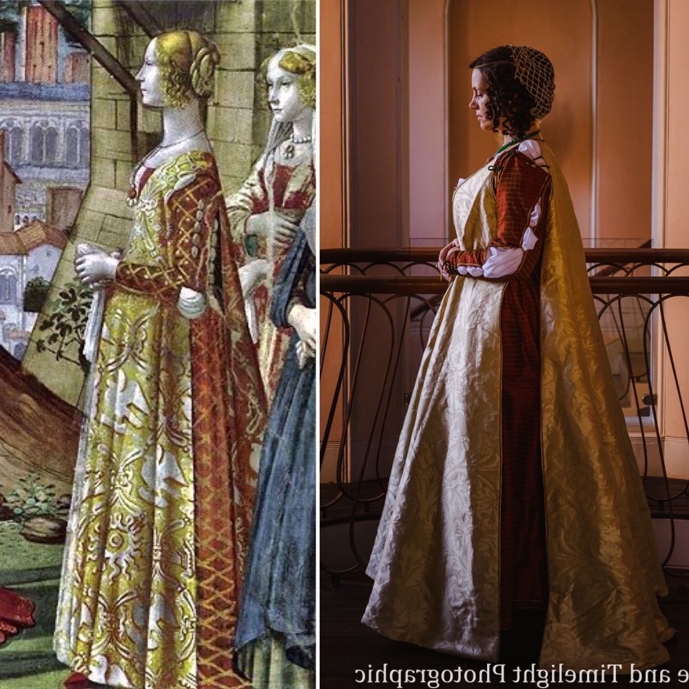 Florentine  kirtle and gown