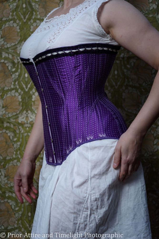 Late Victorian, early Edwardian corset  size 12