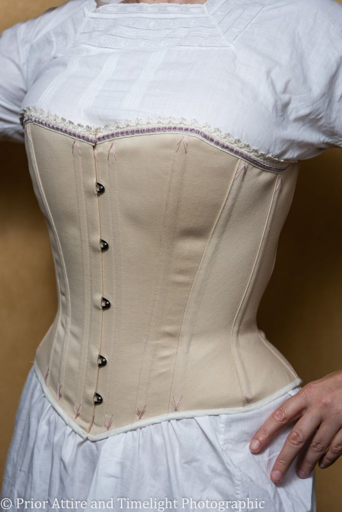 victorian/modern riding corset  size 10-12