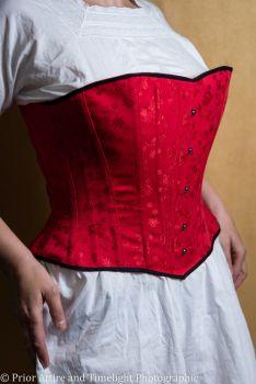 victorian/modern riding corset  size 16