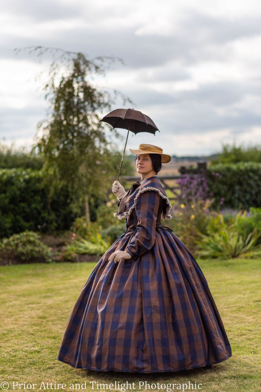Victorian crinoline day dress size 14-16