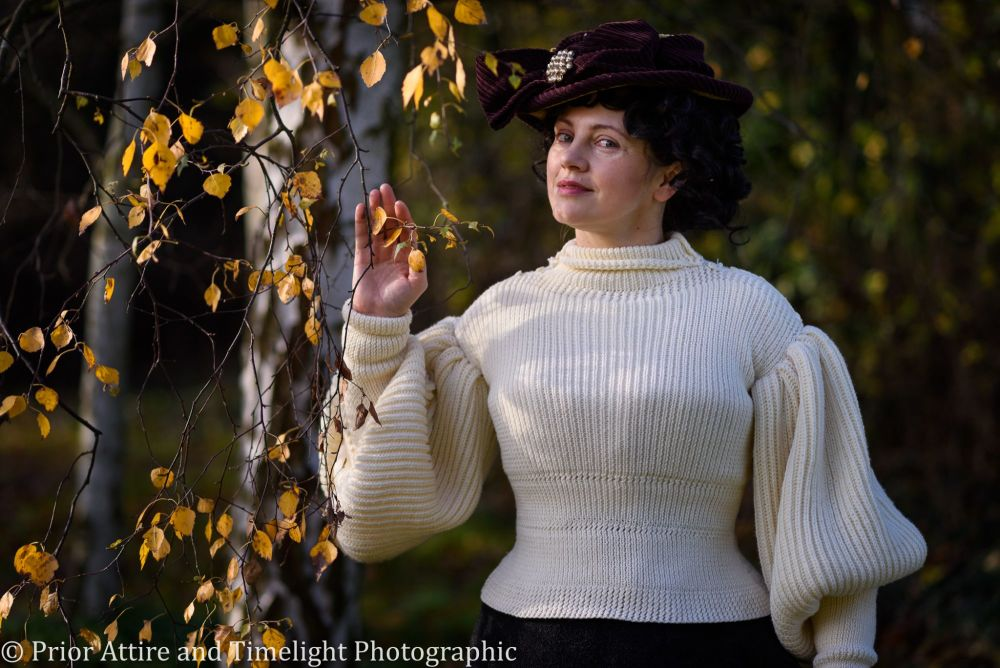 Late Victorian sport sweater, used