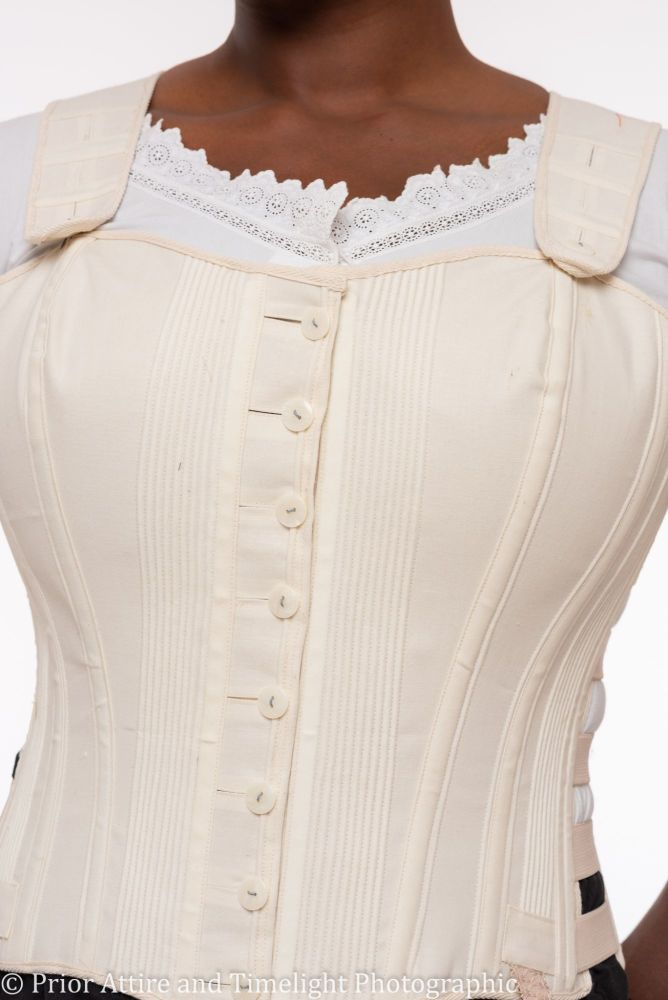 Victorian  sport/biking corset  size 14 -16